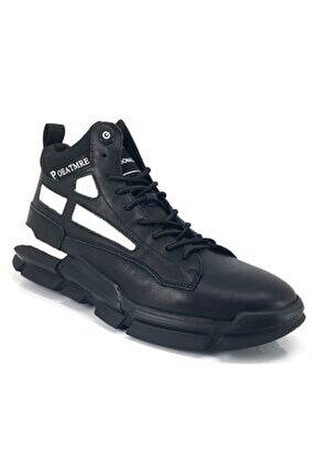 436 Günlük Erkek Sneaker Ayakkabı-siyah