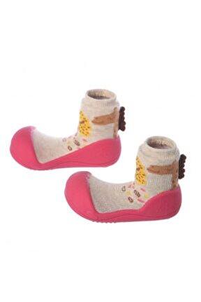 Giraffe Barefoot Çocuk Ayakkabısı - Fuşya