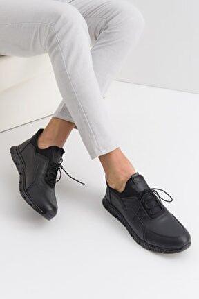 Erkek Deri Bağcıklı Günlük Ayakkabı