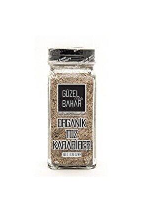 Organik Toz Karabiber 60gr