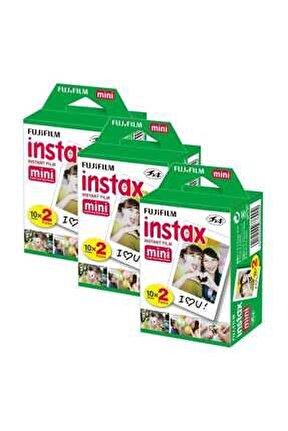 Instax Mini 20'li Film 3'lü Set 60 Poz