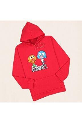 Kırmızı Gumball Sweatshirt