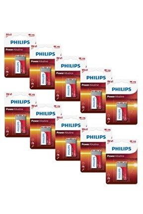 6lr61p1b/05 Alkaline Battery 9v Pil (x10 Adet)