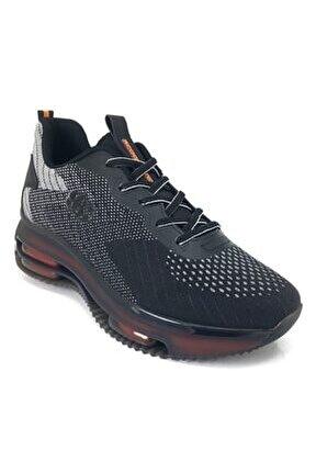 14095 Günlük Erkek Ayakkabı Siyah Gri