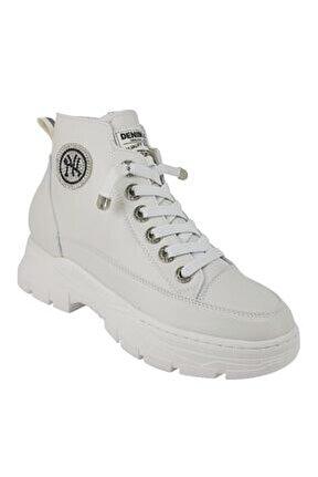 390 Günlük Bayan Sneaker Ayakkabı-beyaz