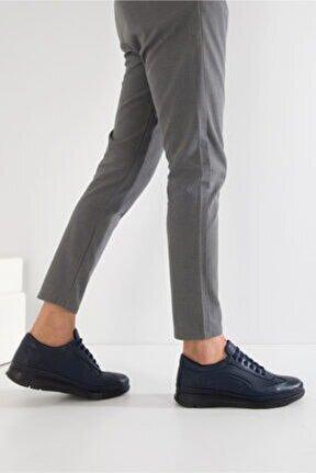Erkek Deri Günlük Bağcıklı Ayakkabı