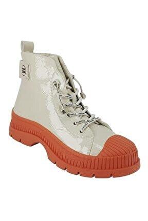 325 Günlük Bayan Sneaker Ayakkabı-turuncu