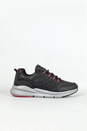 Su Itici Nefes Alır Siyah Kırmızı Erkek Spor Ayakkabı 2426