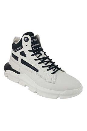 436 Günlük Erkek Sneaker Ayakkabı-beyaz