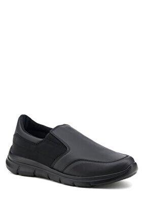 Kobe Pu 1pr Siyah Erkek Comfort Ayakkabı
