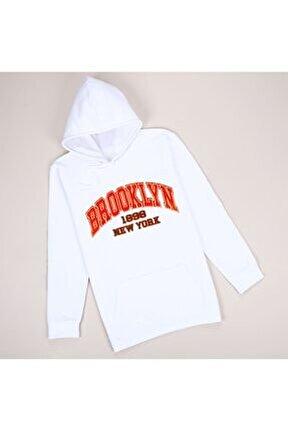 Beyaz Brooklyn Sweatshirt