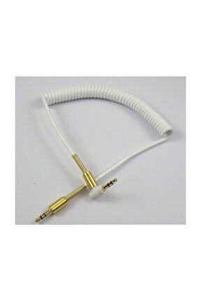 Super Aux Cable Yaylı Beyaz
