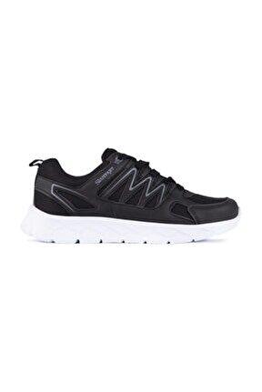 Kronos Sneaker Erkek Ayakkabı Siyah / Beyaz