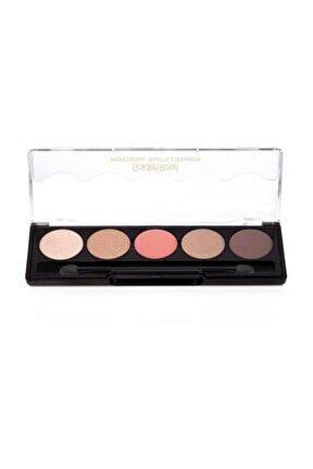 5'li Göz Farı - Professional Palette Eyeshadow No: 106 Nude Pink 8691190071066