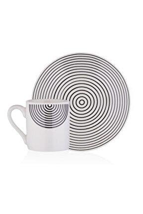Monochrome 6'lı Kahve Takımı M00749-v4