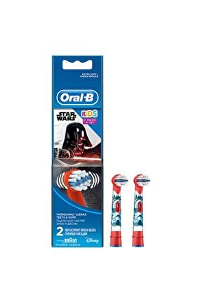 Çocuklar İçin Diş Fırçası Yedek Başlığı Star Wars 2 adet