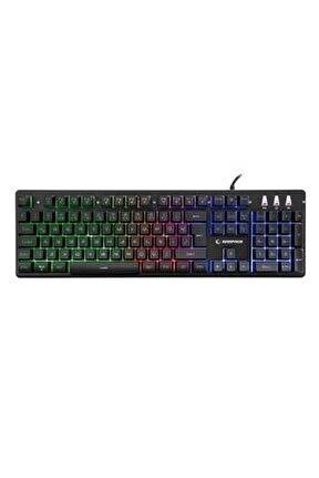 KB-R99 X-CORAL Rainbow Aydınlatmalı Gaming Oyuncu Klavyesi