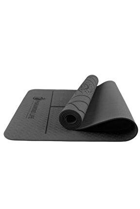 Life AsanaAlign Pro Yoga Mat Siyah