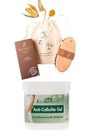 Selülit Karşıtı Jel 250 Ml + Botanica Comfort Selülit Karşıtı %100 Doğal At Kılı Fırçası