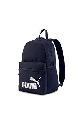 Unisex Lacivert Phase Backpack Sırt Çantası 07548743 (44x30x14cm)