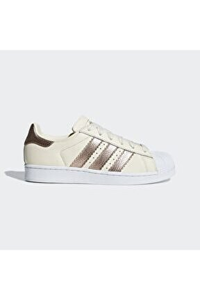 Kadın Beyaz Superstar Spor Ayakkabı cg6449