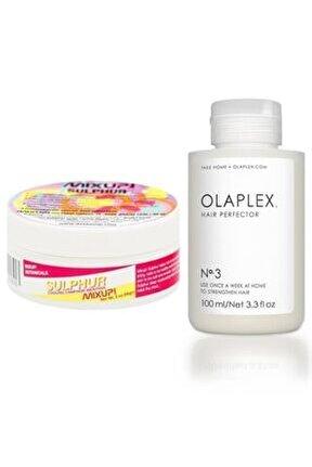 No 3 Saç Kusursuzlaştırıcı 100 Ml + Mixup Sulphur Tırnak Bakım Yağı 56 G