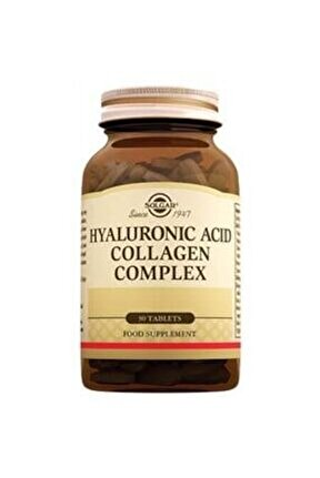 Hyaluronic Acid Collagen Complex 120mg 30 Tablet