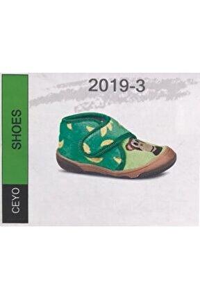 Shoes 2019-3 Çocuk Ayakkabı Yeşil 28