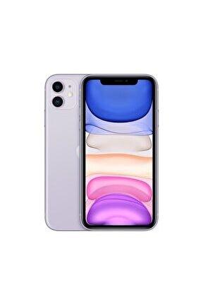 iPhone 11 128GB Mor Cep Telefonu (Apple Türkiye Garantili) Aksesuarsız Kutu