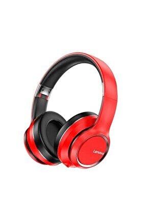 Hd200 Kırmızı Wireless Bluetooth Headphone Kablosuz Kulaklık