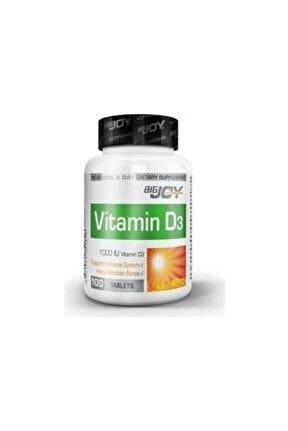 Bigjoy Vitamins Vitamin D3 1000iu 100 Tablet (miad 03/2023)