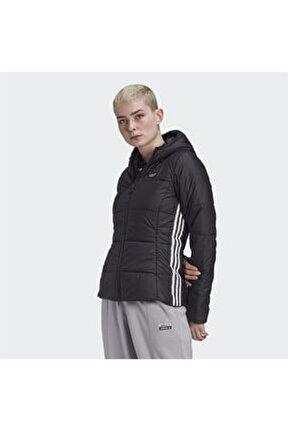 Kadın  Siyah Slim Jacket Mont