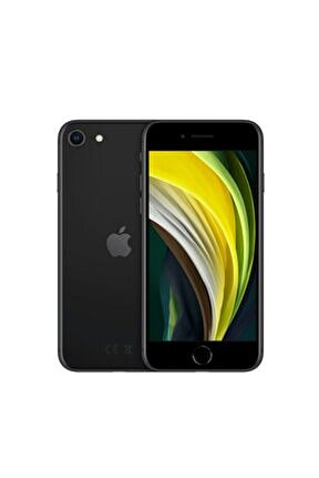 iPhoneSE 64GB Siyah Cep Telefonu (Apple Türkiye Garantili) Aksesuarsız Kutu