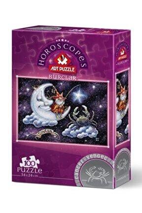 100 Parça Puzzle Yengeç Burcu 5804