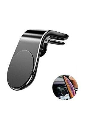 Rez H-003 Mıknatıslı Siyah Araç Içi Telefon Tutucu