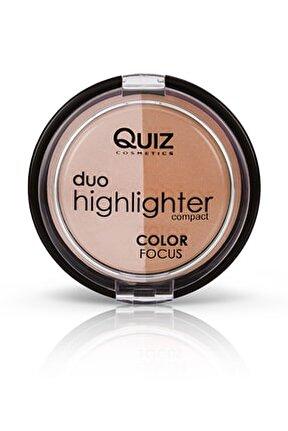 Color Focus Duo Highlighter 30 2'li Aydınlatıcı ve Bronzlaştırıcı Seti