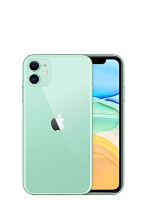 iPhone 11 128GB Yeşil Cep Telefonu (Apple Türkiye Garantili) Aksesuarsız Kutu