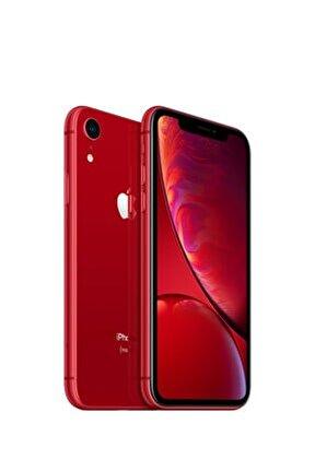 iPhone XR 64GB (PRODUCT)RED Cep Telefonu (Apple Türkiye Garantili) Aksesuarsız Kutu
