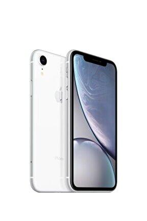 iPhone XR 64GB Beyaz Cep Telefonu (Apple Türkiye Garantili) Aksesuarsız Kutu