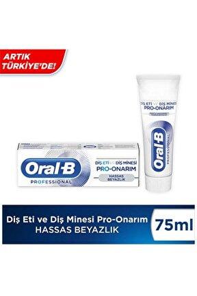 Professional Diş Eti ve Diş Minesi Pro-Onarım Hassas Beyazlık 75 ml