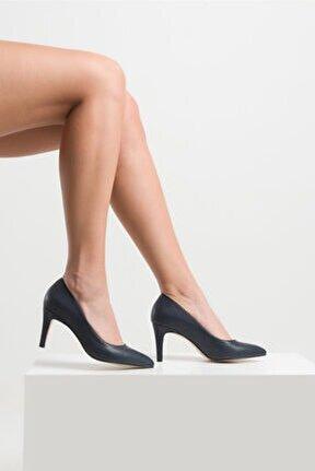 Kadın Lacivert Stiletto