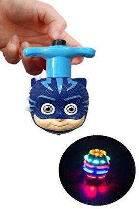 Pj Masks Işıklı Lazerli Oyuncak Topaç Pijamaskeliler