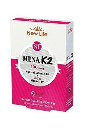 Newlife Mena K2 30 Kapsül 7640128140863