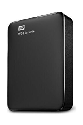 "Elements 4TB 2.5"" USB 3.0 Taşınabilir Disk WDBU6Y0040BBK-WESN"