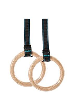 Lp8123 Ahşap Crossfit-jimnastik Halkası
