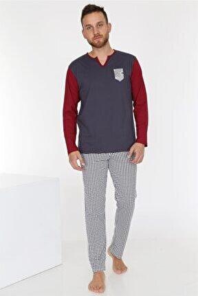 Füme Erkek Pijama Takımı
