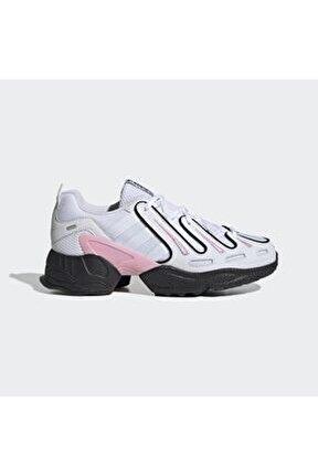 Kadın Beyaz Gri Eqt Gazelle Günlük Spor Ayakkabı