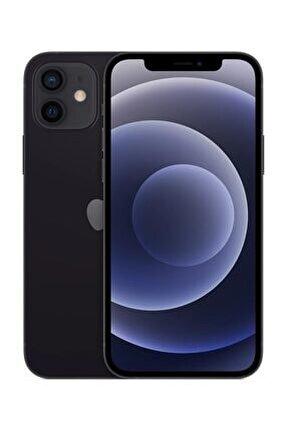 iPhone 12 64GB Siyah Cep Telefonu (Apple Türkiye Garantili) Aksesuarsız Kutu