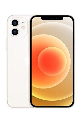 iPhone 12 64GB Beyaz Cep Telefonu (Apple Türkiye Garantili) Aksesuarsız Kutu