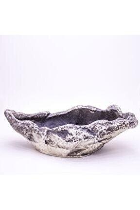 Gondol Sukulent Çiçeklik 28x9x15 cm